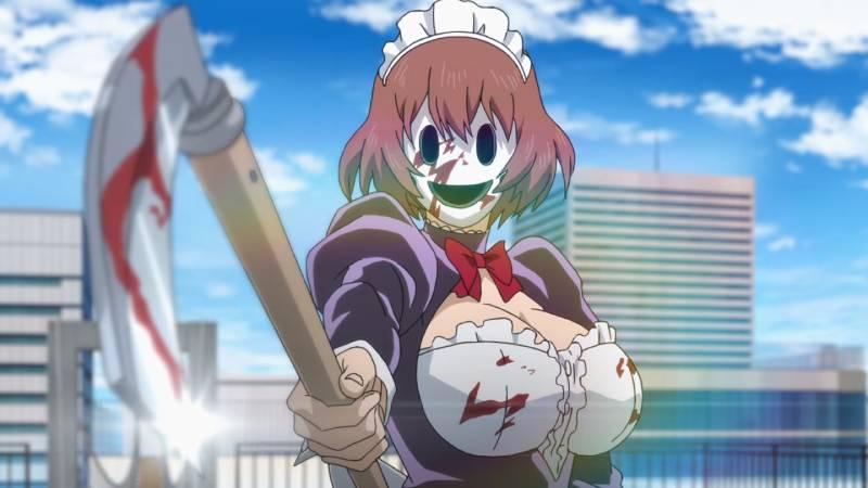 High-Rise Invasion - scena z anime