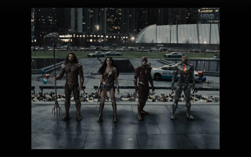 Kadr z filmu Liga Sprawiedliwości Zacka Snydera