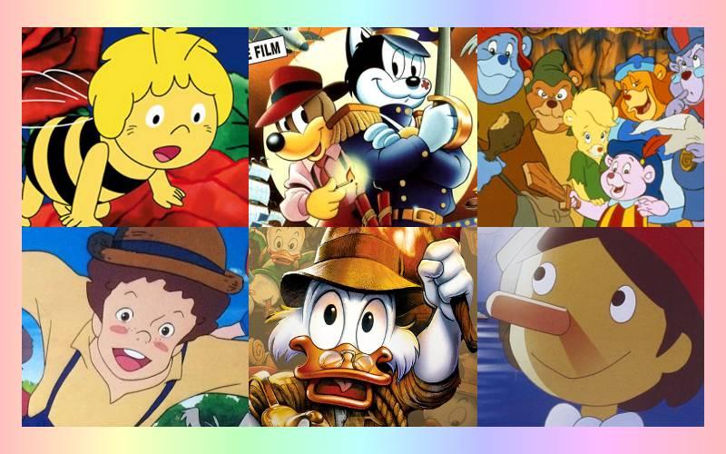 Seriale animowane – te czołówki dziś sobie zanucimy