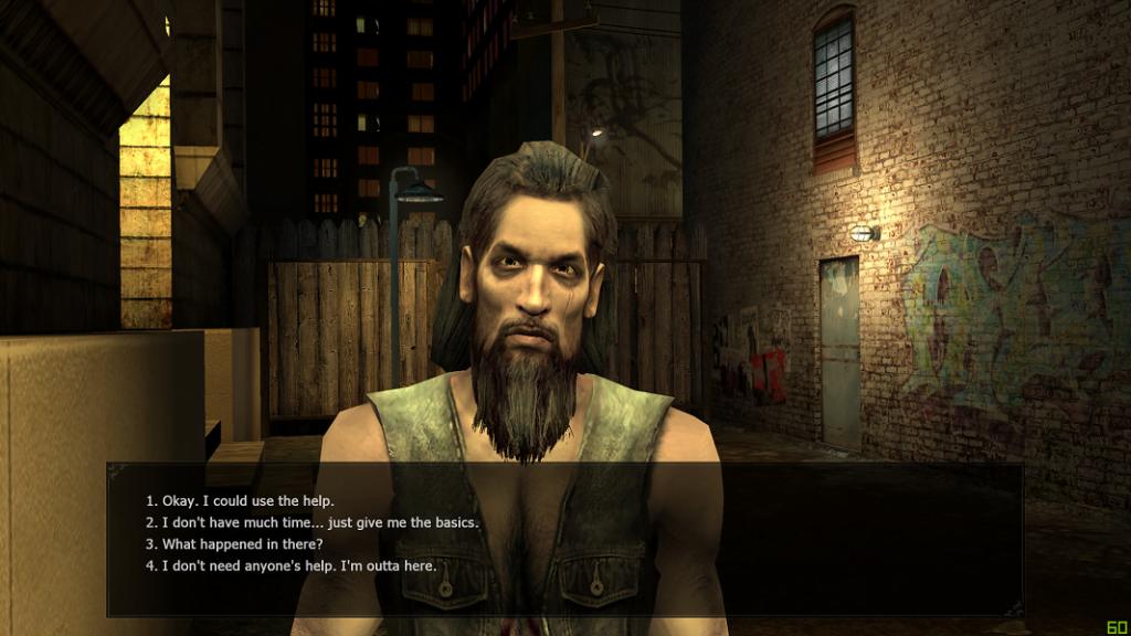 Niezastąpiony Jack uświadamiający gracza w jakim świecie od teraz będzie funkcjonował