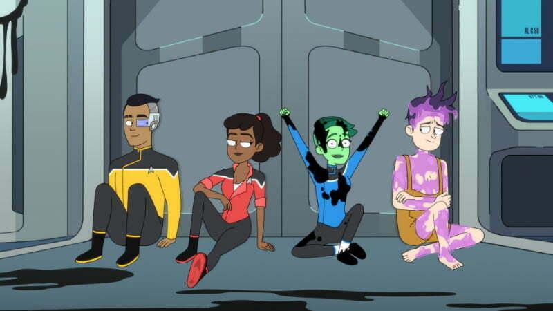 Star Trek: Lower Decks - kadr z serialu
