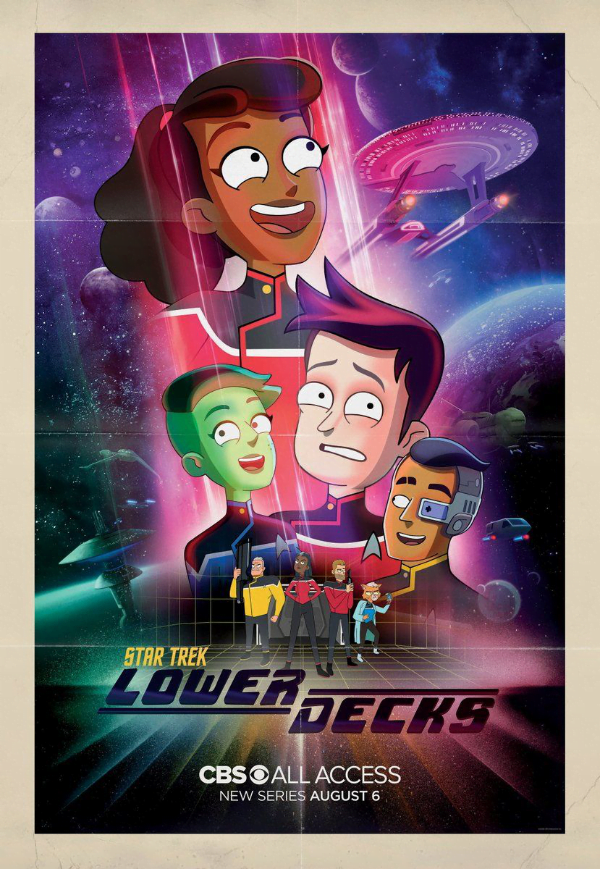 Star Trek: Lower Decks - plakat serialu