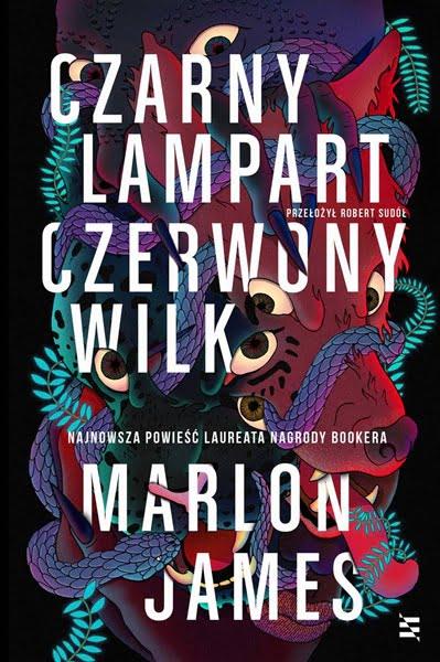 Okładka książki Czarny Lampart Czerwony Wilk Marlona Jamesa