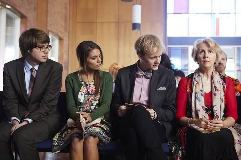 Tom, Claire oraz Josh z mamą (źródło: imdb.com)