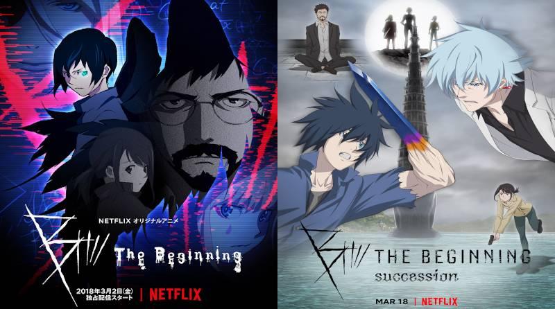 Plakaty pierwszego i drugiego sezonu (źródła: imdb.com, netflix.fandom.com)