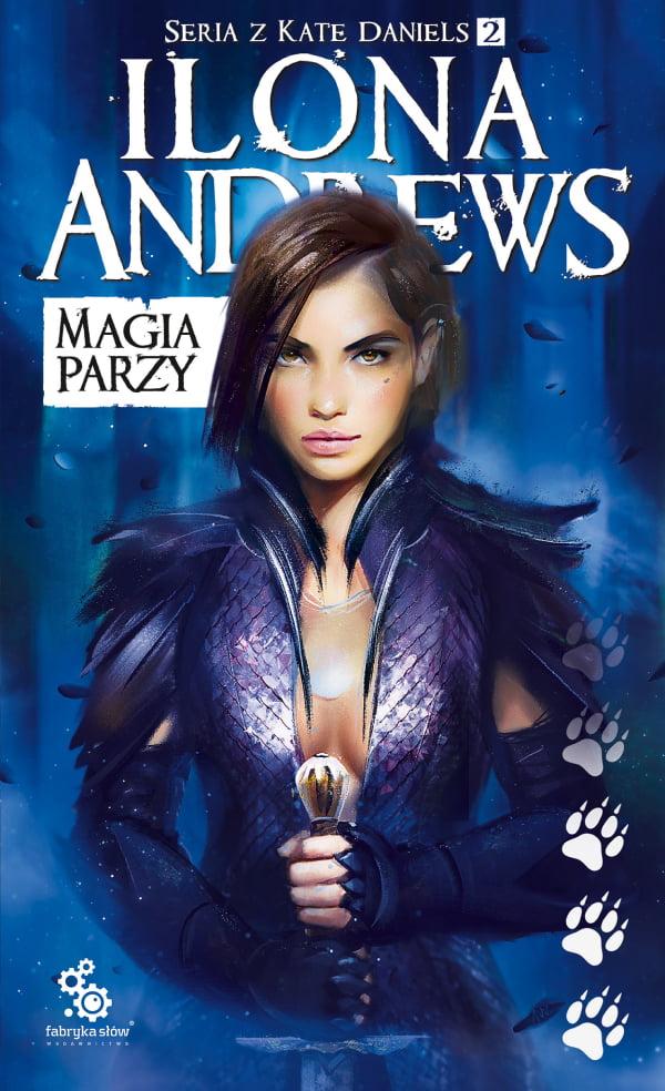 Magia parzy - okładka książki (wznowienie)