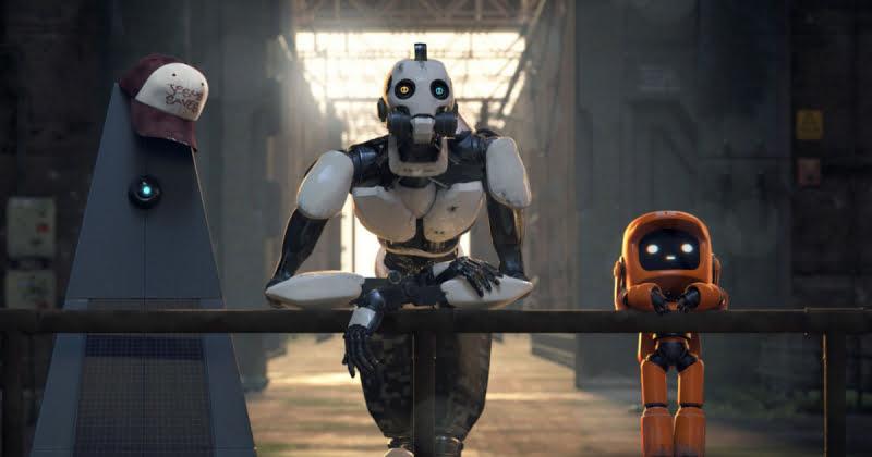 Trzy roboty - kard z epizodu