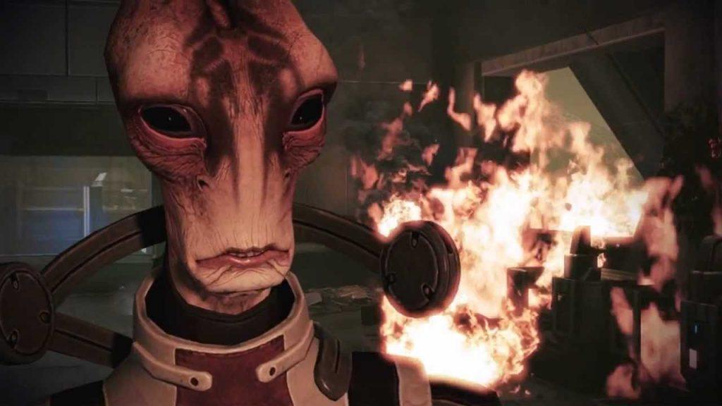 Mass Effect 3 - screen z gry