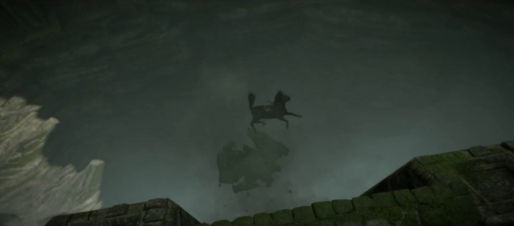 Shadow of the Colossus - screen z gry