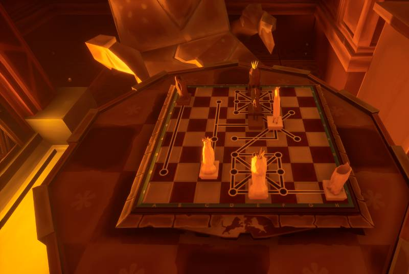 Stare, dobre szachy. Czym bez nich byłaby gra logiczna? Mam jednak wrażenie, że ta rozgrywka może sprawić trudność nawet najlepszym z najlepszych.