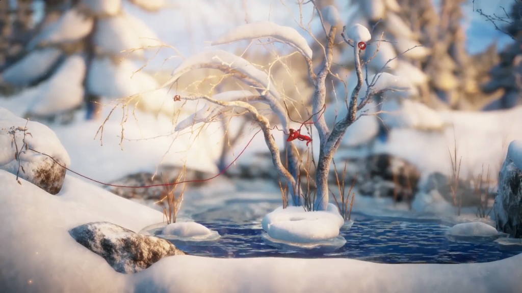 Unravel - screen z gry