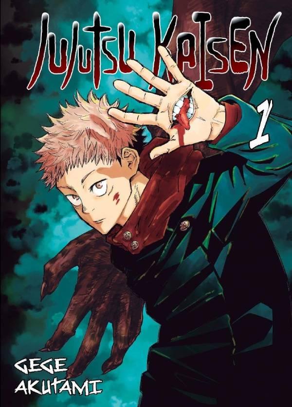 Jujutsu Kaisen. Tom 1 - okładka