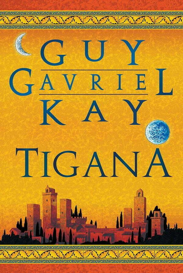 Okładka pięknego dzieła Guya Guvriela Kaya
