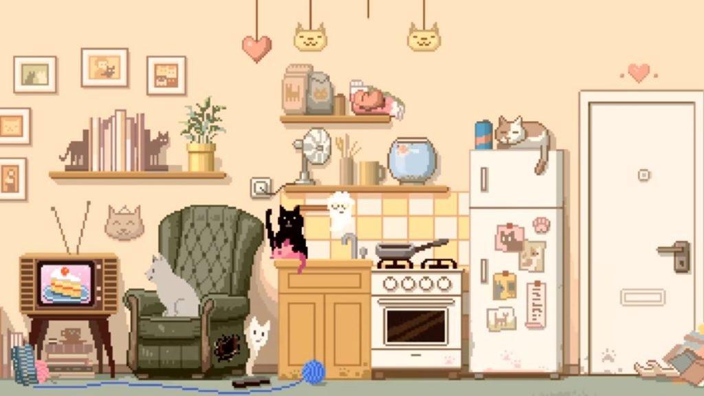 Six Cats Under - screen z g