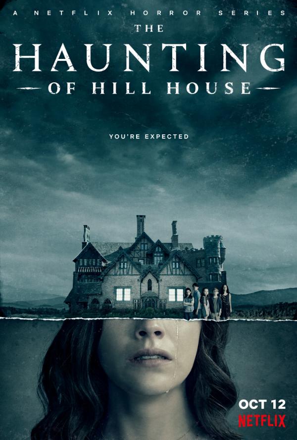 Nawiedzony Dom na wzgórzu - plakat