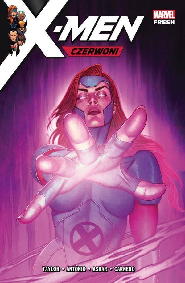 X-Men. Czerwoni - okładka komiksu