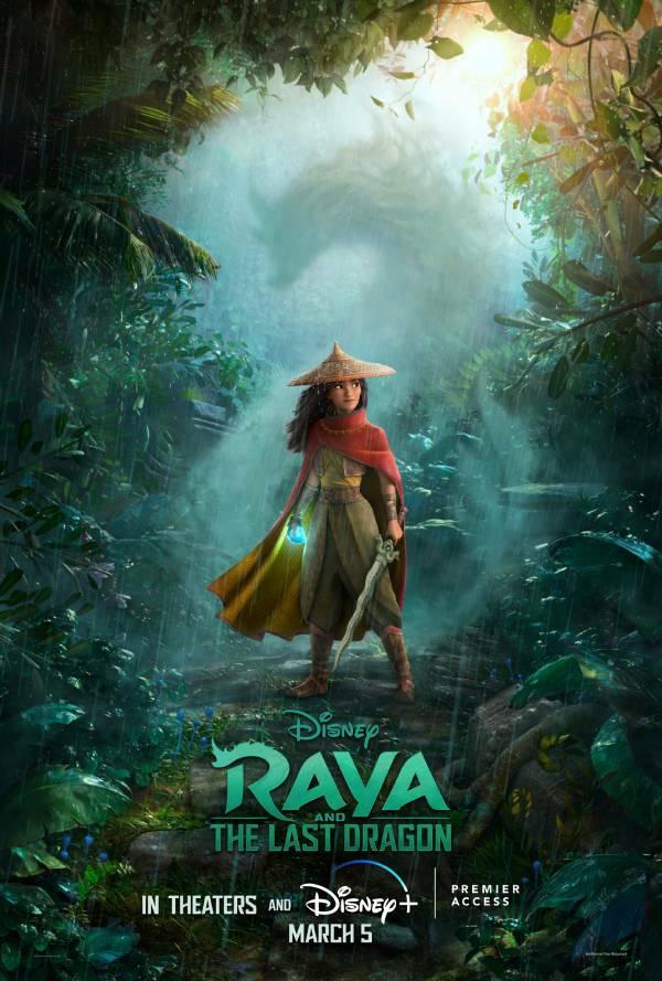 Raya i ostatni smok - plakat promujący