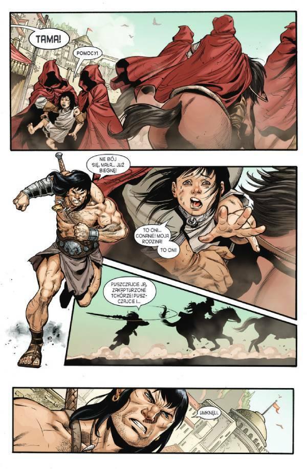 Conan barbarzyńca. Exodus i inne opowieści - przykładowy kadr
