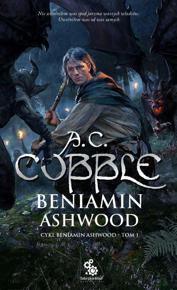 Beniamin Ashwood –okładka ksiązki