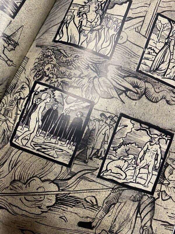 Księgi Magii - fragment komiksu
