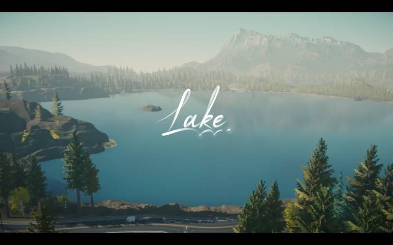 Lake - screen z gry