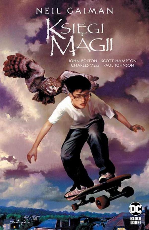 Księgi Magii - okładka komiksu