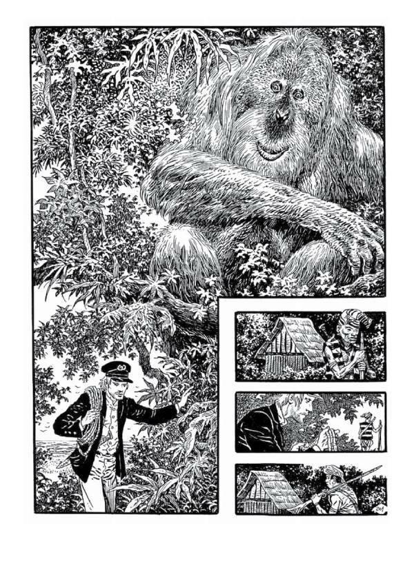 Niestety, casting na King-Konga wygrał goryl...