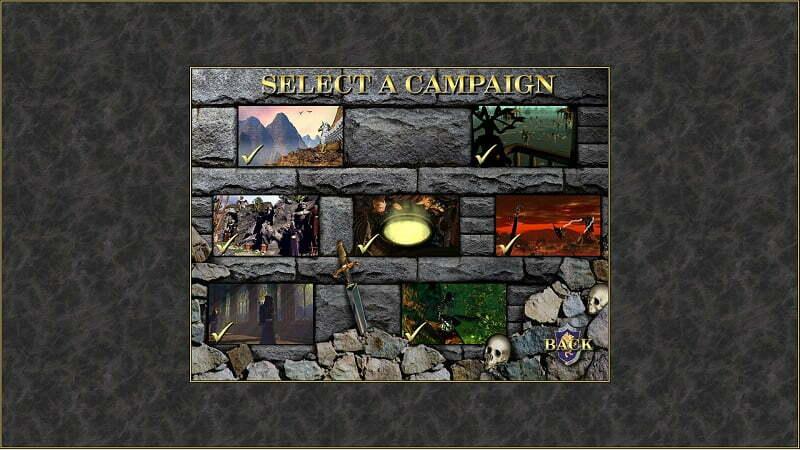 A tak wygląda potwierdzenie ukończenia wszystkich dostępnych kampanii w podstawowej wersji gry.