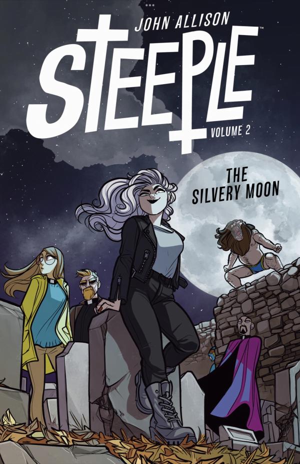 Steeple - Okładka komiksu