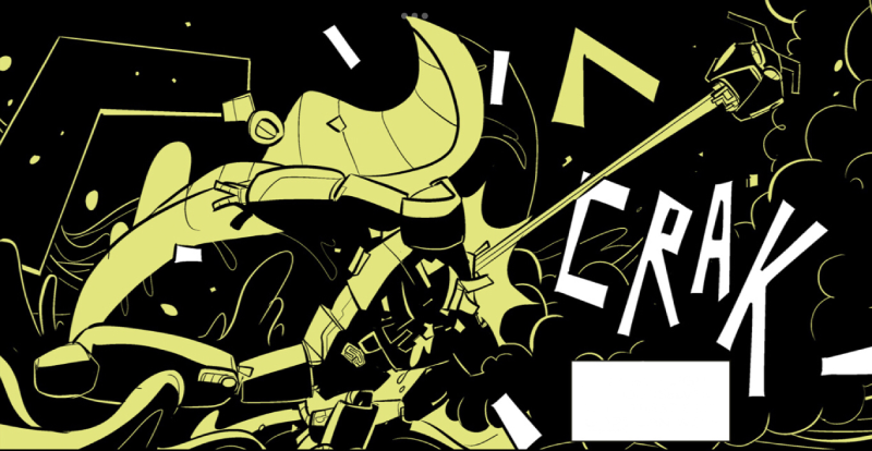 Steeple - Kadr z komiksu